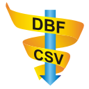 DBF to CSV Converter for Mac