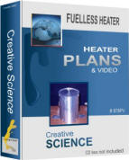 Fuelless Heater Plans and Video Package